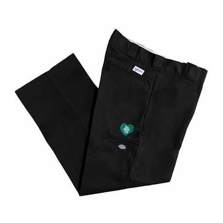 TGL Heart Dickies Double Knee Work Pants (Black)