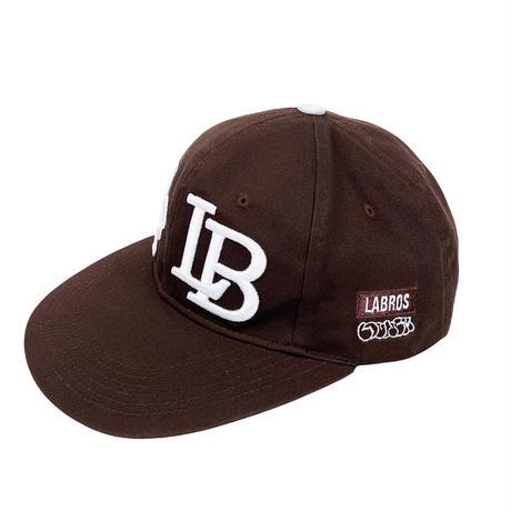 LT/LB 6-panel Cap (Brown)