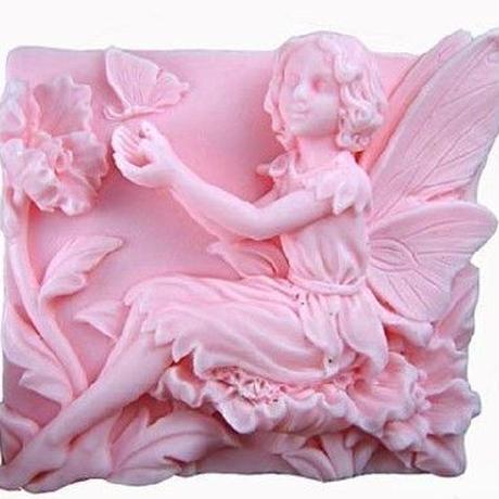 可愛い妖精のモールド H019