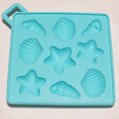 ♥シートモールド シェル( 海 生き物 貝 ヒトデ 巻き貝 )