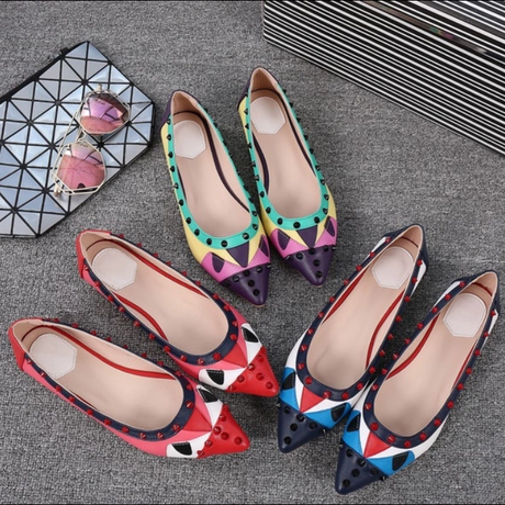 monster flat shoes