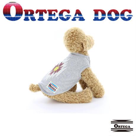 送料無 ORTEGA (オルテガ) 犬服 Tシャツ フェザーチャームアクセ付 Tee ドッグウエア ORTG-010 ネイティブ アメカジ
