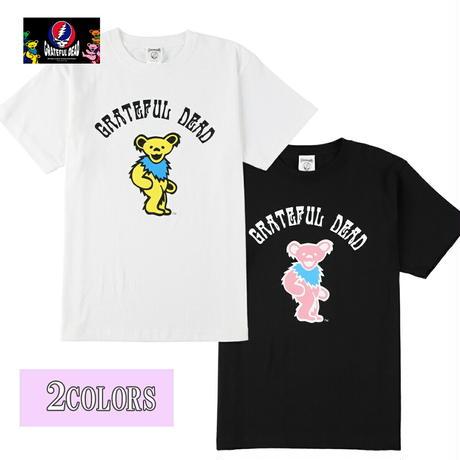送料無料 Grateful Dead (グレイトフル・デッド) Tシャツ メンズ レディース GFDD-008 デッド ベアー キャラクター バンド ロック アメカジ