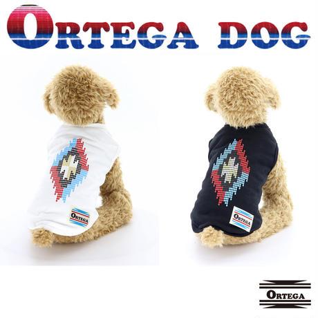 送料無料 ORTEGA (オルテガ) 犬服 Tシャツ フェザーチャームアクセ付 Tee ドッグウエア ORTG-009 ネイティブ アメカジ