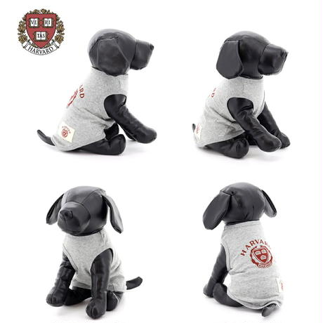 送料無料 HARVARD (ハーバード) 犬服 Tシャツ ドッグウエア HVAD-053 カレッジ アメカジ