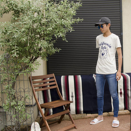 UCLA-0390 UCLA VINTAGEヘザーTシャツ カルフォルニアベア
