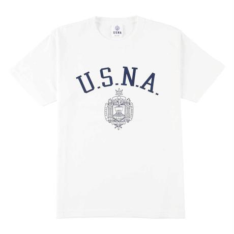 USNA(ユーエスエヌエー) Tシャツ メンズ レディース USNA-004 6.2oz ヘビーウエイト オープンエンドTシャツ アメカジ ミリタリー