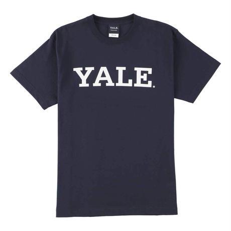 YALE (イェール) Tシャツ メンズ レディース YALE-003 6.2oz ヘビーウエイト カレッジ ロゴ オープンエンドTシャツ アメカジ