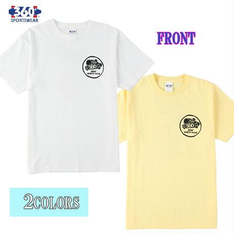 送料無料 SALE 50%OFF 360° SPORTSWEAR (スリーシックスティ スポーツウエア) Tシャツ メンズ レディース THSX-070 ヘビーウエイト スケーター ドッグデザイン