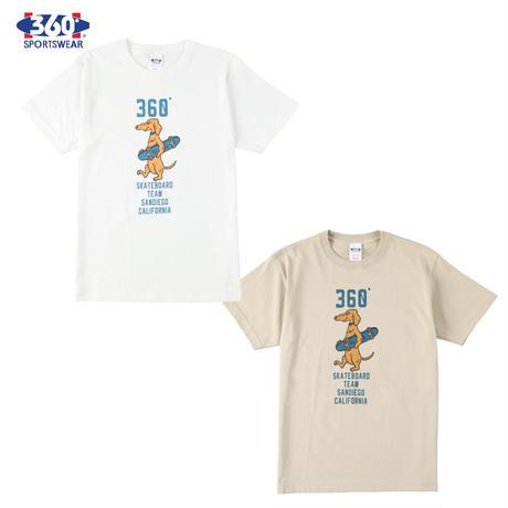 送料無料 SALE 50%OFF 360° SPORTSWEAR (スリーシックスティ スポーツウエア) Tシャツ メンズ レディース THSX-050 ヘビーウエイト スケーター アメカジ