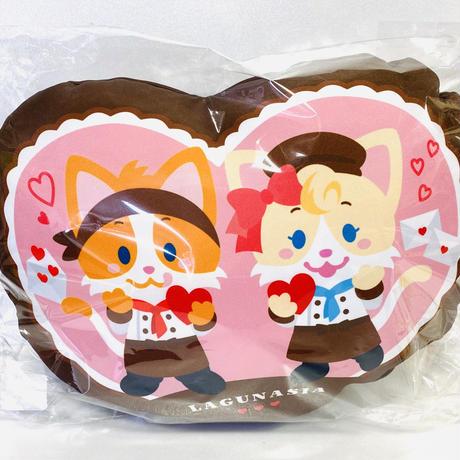 【ラグナシア限定】ラグナシアキャラ、バレンタインクッション