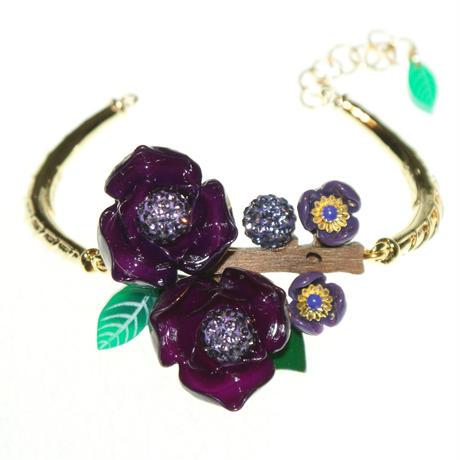La Hormiga <Magnolia Purpura> ブレスレット MAG-B6