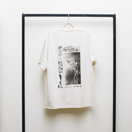 """LAID BUG S/S TEE WHITE """"Visions of Passions"""""""