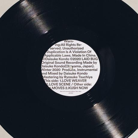 "LAID BUG RECORDS LBR001 ""Daisuke Kondo"""