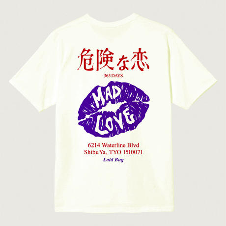 MAD LOVE Records × LAID BUG S/S Tee