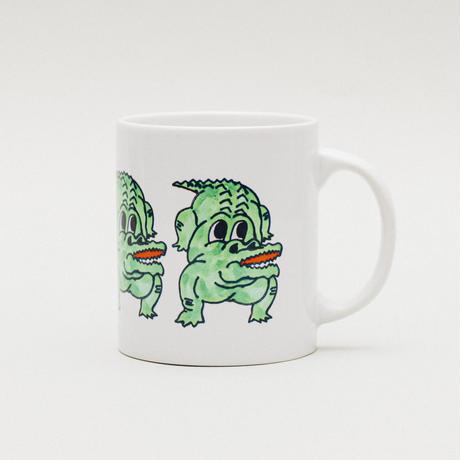 """YUDAI NISHI """"CROCODILE"""" MUG CUP"""
