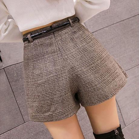 キュロットスカート 厚手