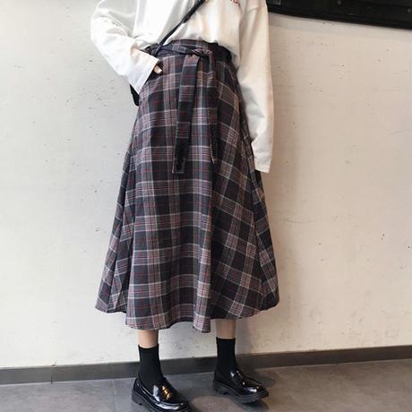 ゆったり フレアスカート