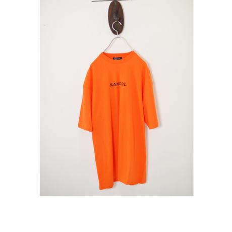 KANGOL 刺繍 プリント半袖Tee オーバーサイズカットソー