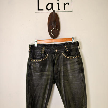 HARLEY-DAVIDSON leather shorts 28