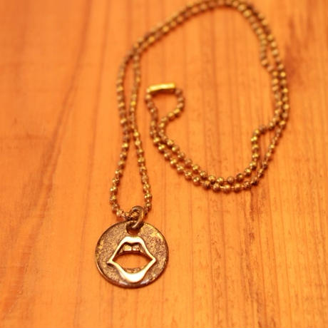 Lair Lips necklace