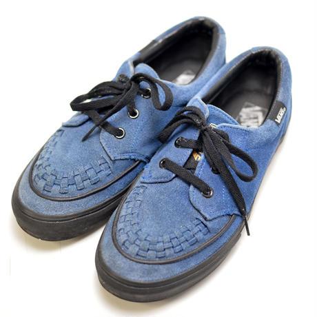 VANS  creepers blue 27cm