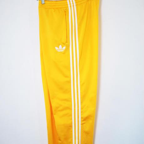 Adidas track pants yellow M