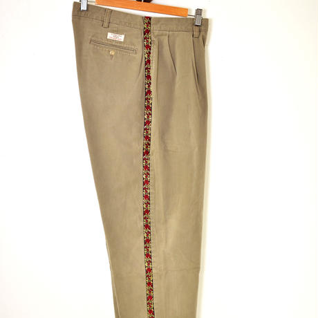 Ralph Lauren × Rose custom pants 36