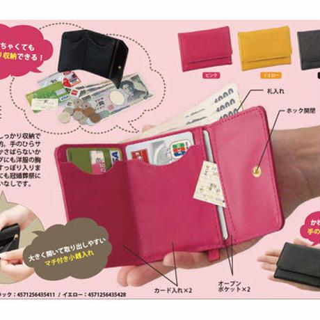 短財布 ショートウォレット◆マルチに使える スマート手のひら財布◆K11540