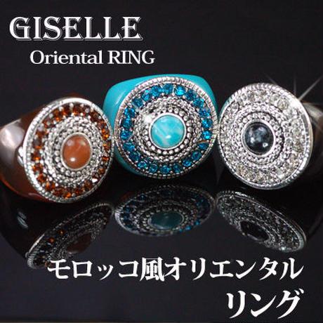 指輪 リング◆モロッコ風★オリエンタルリング☆2サイズ・3カラー◆OSK-R25