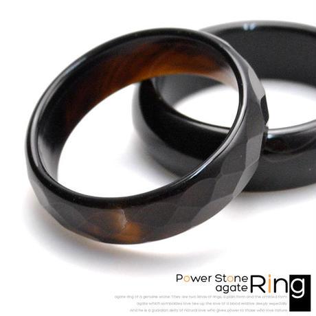 指輪 リング◆パワーストーン 愛を象徴する石♪多面カットメノウ◆CSVY0001
