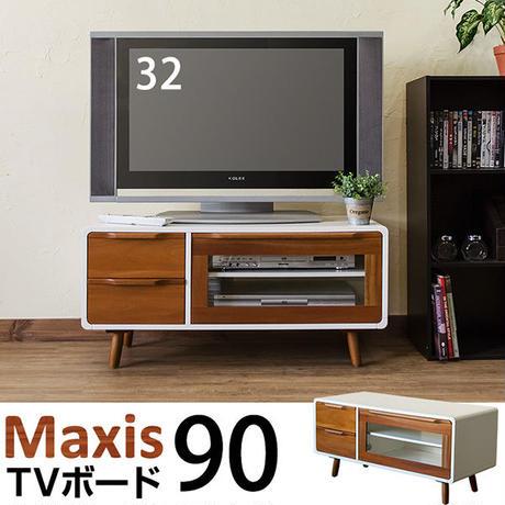 家具 テレビ台・AVラック◆Maxis TVボード 90◆itv90