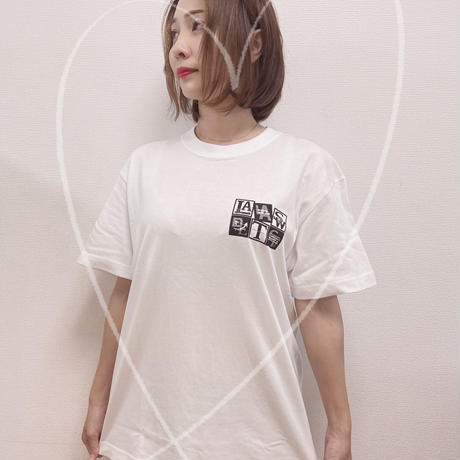 LaLasweetgt2021 BLACK &Whit Tシャツ