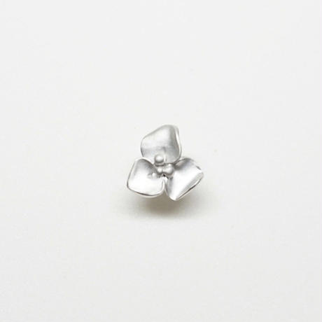 Silver(RH) Single earring (Fiore)