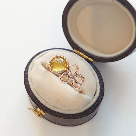K10 Ring (Yellow tourmaline)