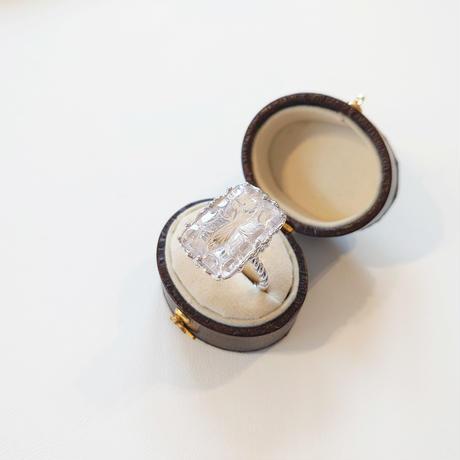 Silver(Rh)Ring (Quartz)