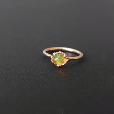K10 Ring (Fire Opal)