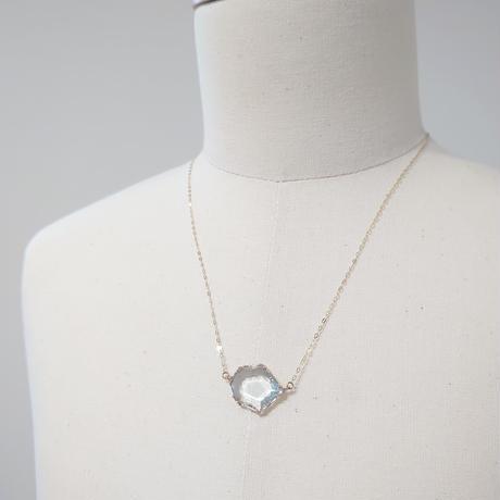K10 Necklace (Blue topaz)