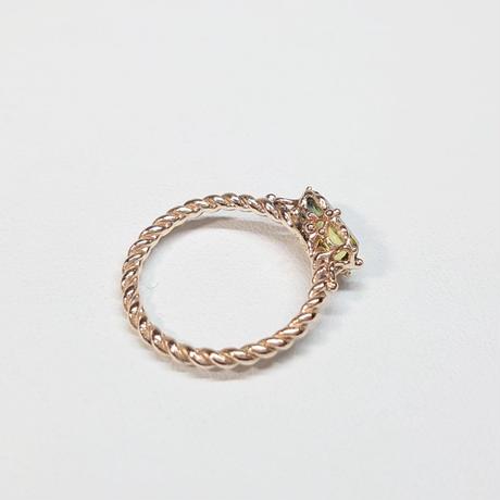 21R67 K10 Ring (Biocolor Tourmaline)