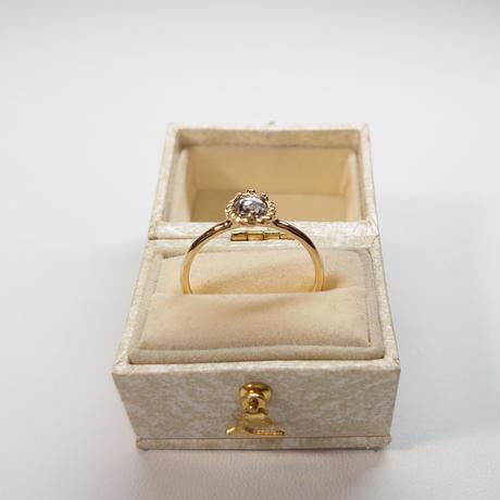 21R77 K18YG Ring (Diamond)