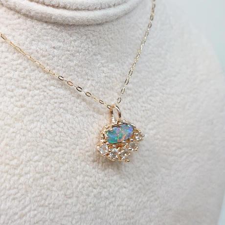 K10 Necklace (Black opal)