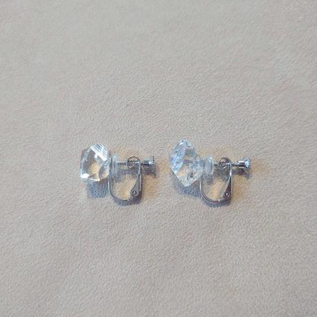 SV(Rh) Earrings (Herkimer Quartz)