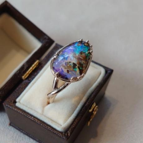 K10 Ring(Boulder opal)