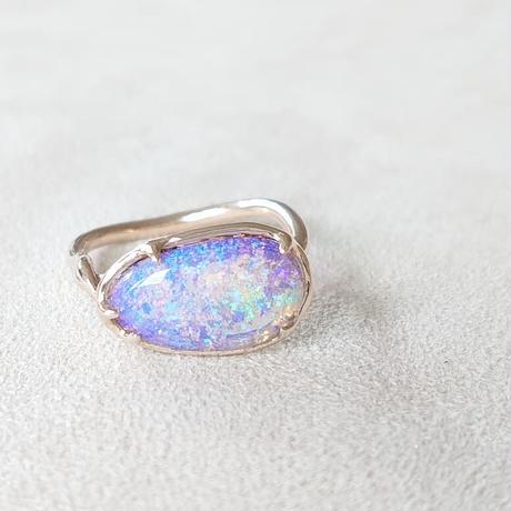 K10 Ring (Boulder opal)