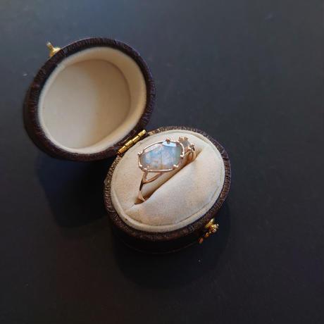 K10 Ring (Labradorite/Opal)