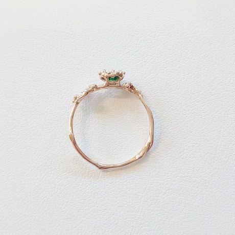 1811R80 K10 Ring (Chrome Tourmaline)