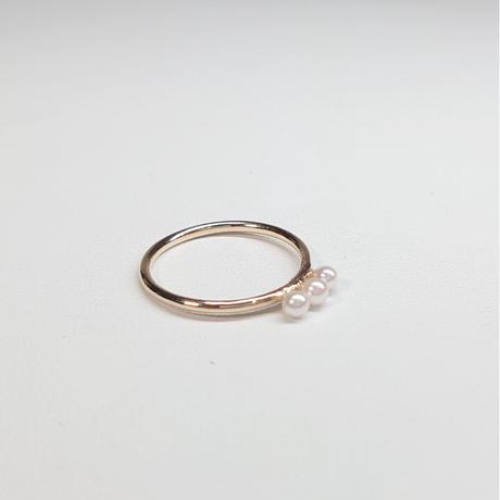 21R68 K10 Ring (Aokoya Pearl)