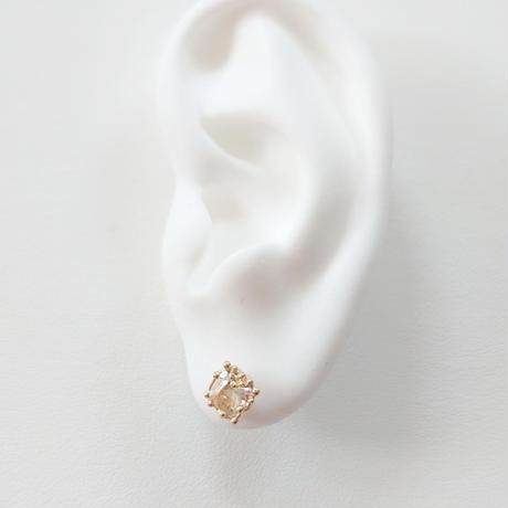 SV(K18Gp) Earrings (Topaz)