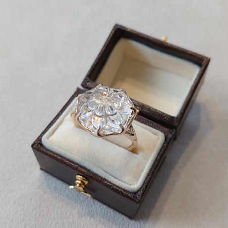 K10 Ring(White topaz)