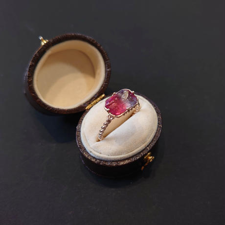 K10 Ring (Bicolor tourmaline)